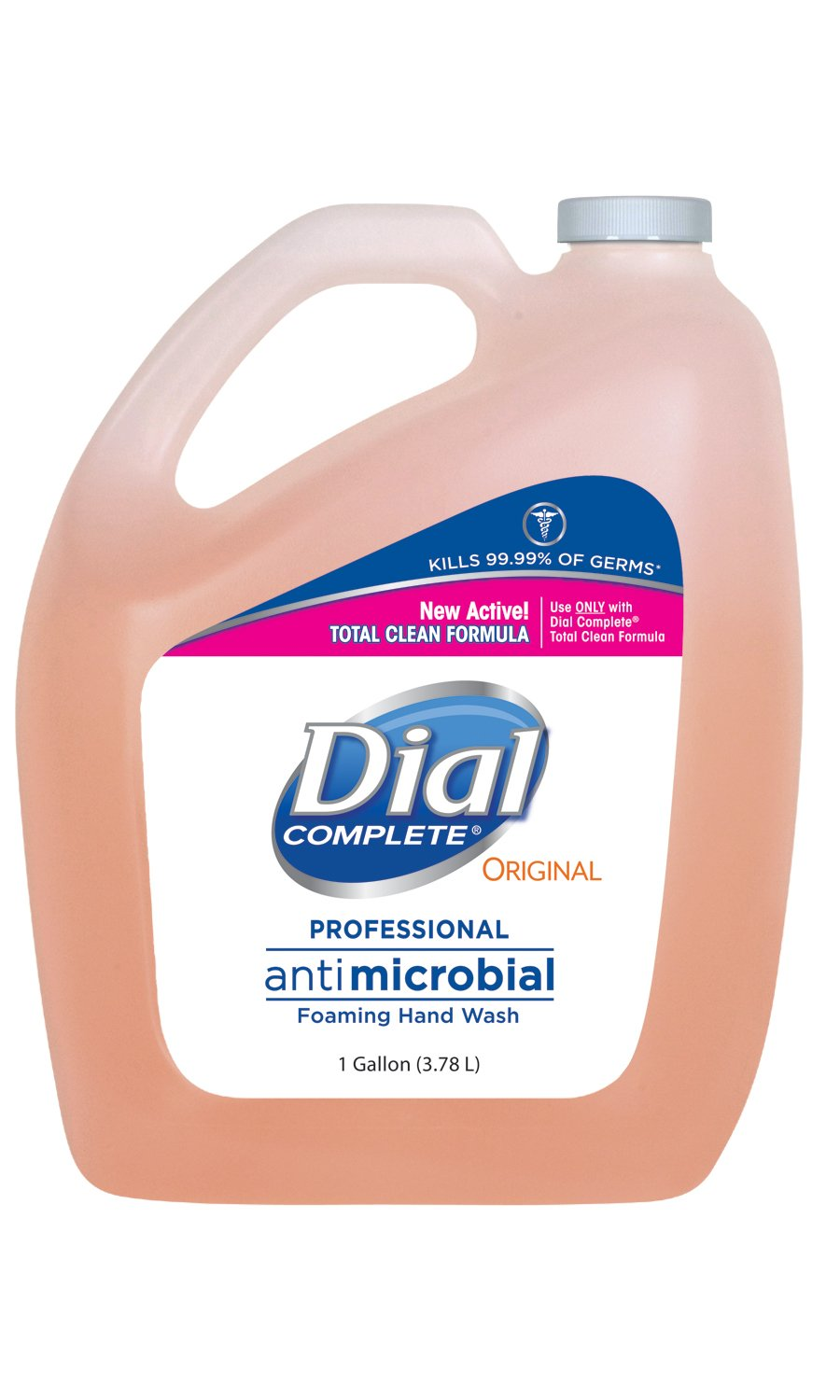 Dial Complete 1434633 Antimicrobial Foaming Hand Soap, 1 Gallon Bottle (Pack of 4) by Dial