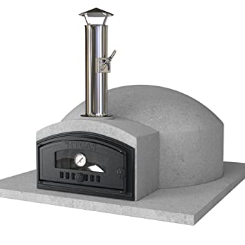 vitcas diy wood fired pizza oven kit build your own pompeii 80