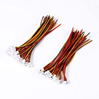 Drfeify 20 Pares Mini 1.25mm 3 Pines Cables