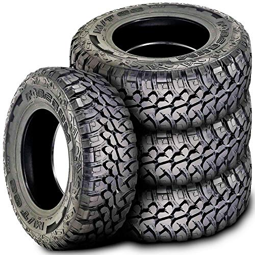 Set of 4 (FOUR) Forceum M/T 08 Plus Mud Tires - LT265/75R16 123/120Q E (10 Ply) (Best Light Truck Snow Tires)