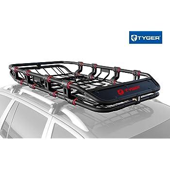 Amazon.com: ROLA 59504 V-Tex Rooftop Cargo Basket: Automotive