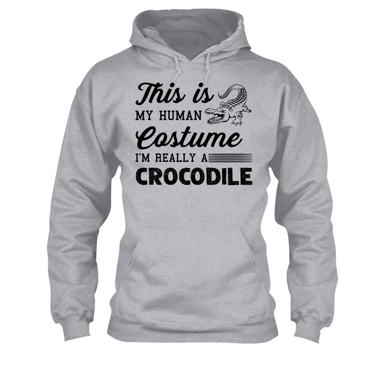 Im Really A Crocodile Tee Shirt Cool Sweatshirt Hoodie