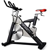 Professional Indoor Cycling Bike With LCD Monitor and 55lb flywheel - Commercial Standard