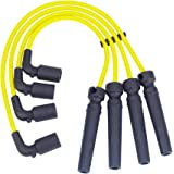 Spark Plug Wires Sets Igniton Cables Performance Silicone Leads for Chevrolet Aveo Daewoo Nubira 1.6L