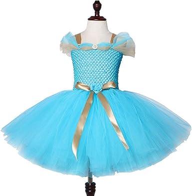 RNGb Tutú de malla para niñas, vestido de princesa mágica de ...