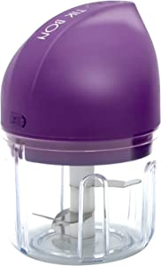 Garlic Mincer,Mini Electric Garlic Chopper,Portable Food Chopper,Small Food Processor for Pepper,Nuts,Meat and Cloves