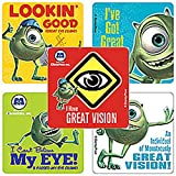 Disney Monsters, Inc. Eye Stickers - Party Favors - 100 Per Pack
