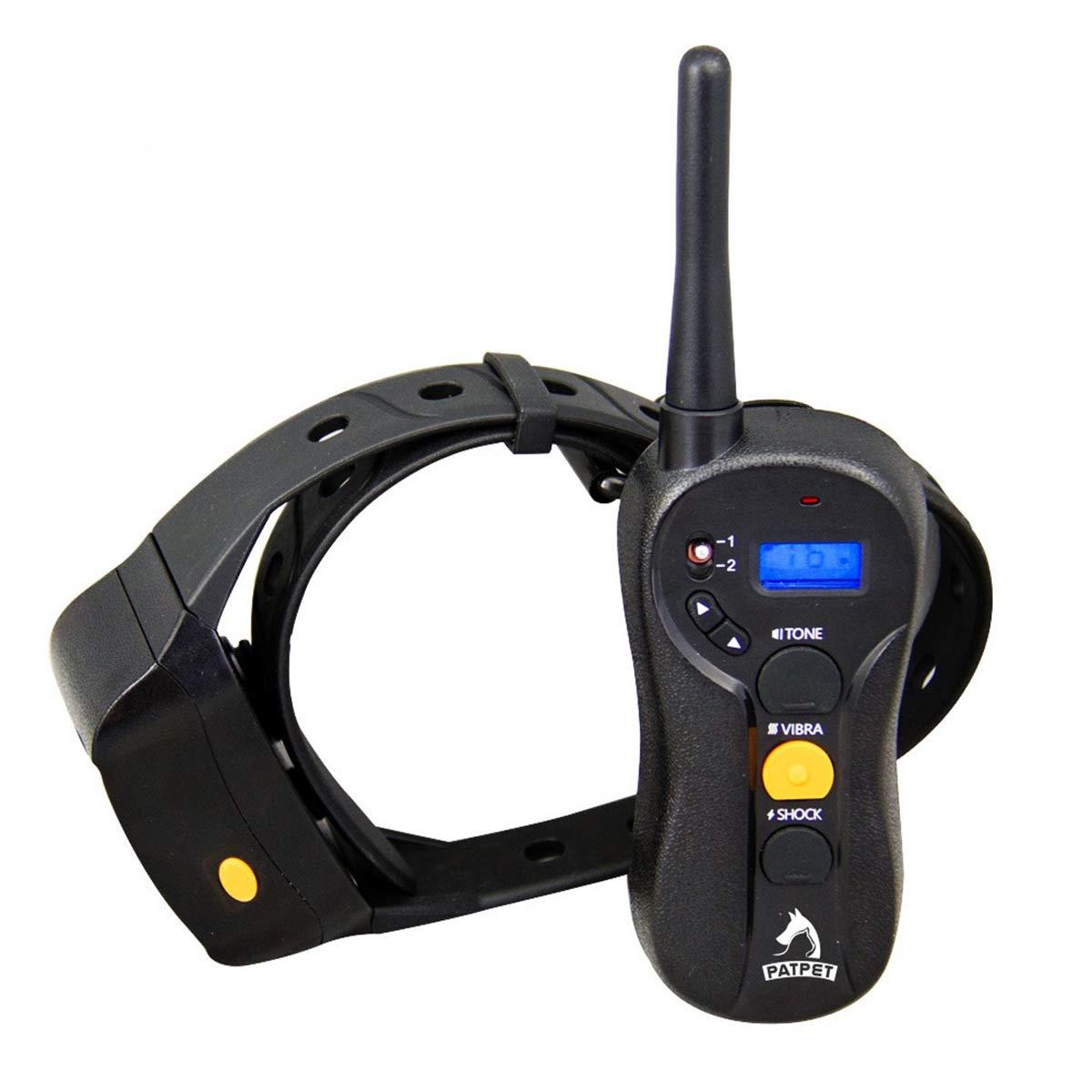 Addestramento Collar Cane ricaricabile e impermeabile Shock Collar con Tone, Vibration e Shock for Two Dogs (per uno)