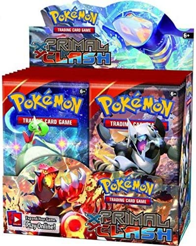 Case Fresh POKEMON CCG XY PRIMAL CLASH  Lot of 9 Booster packs Brand New!