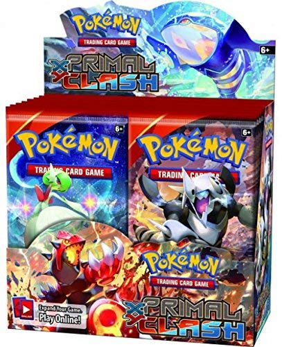 - Pokemon TCG: XY Primal Clash, 36 Pack Booster Box