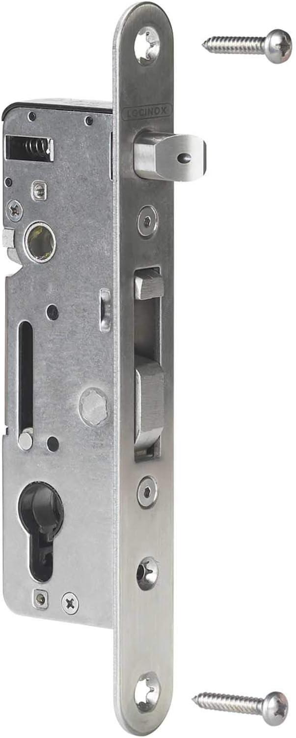 LOCINOX - Cerradura de puerta corredera (metal en forma de H ...