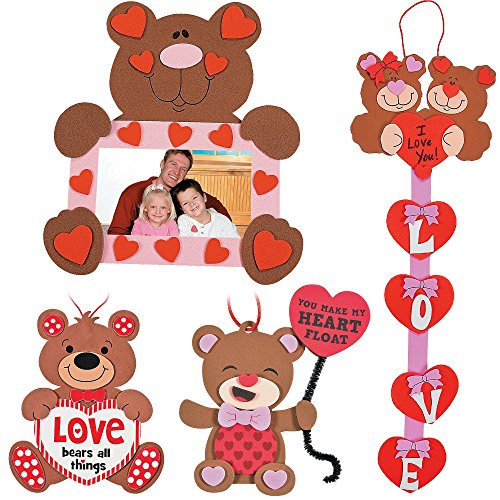 Valentine's Day Bears Craft Kit