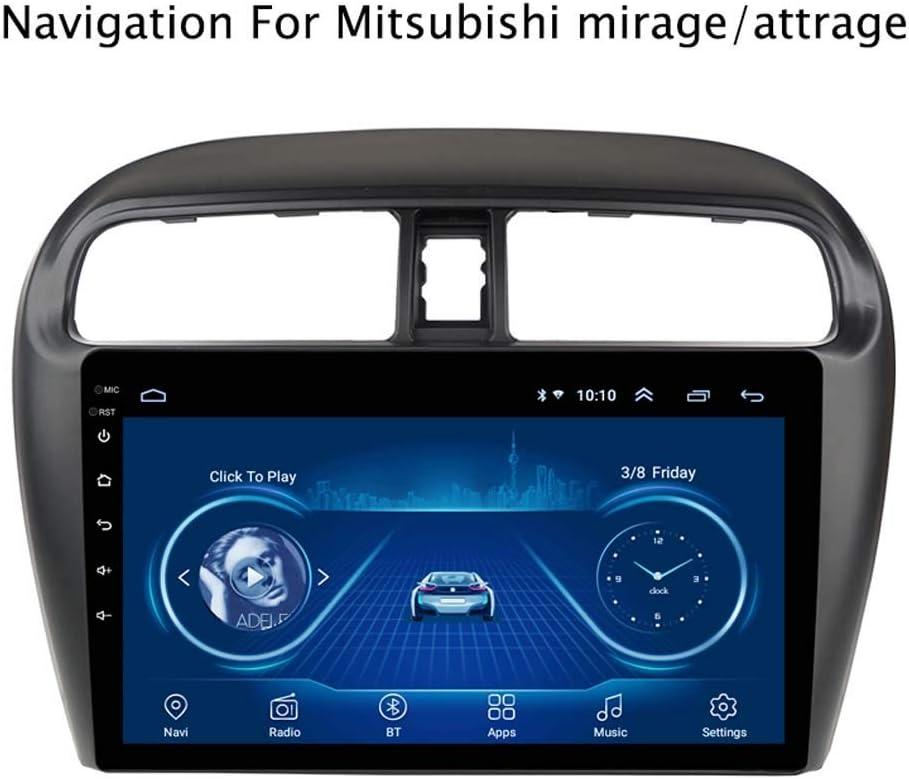 Android 8 1 Auto Gps Navigation Radio Für Mitsubishi Mirage Attrage 2012 2018 9 Zoll Touchscreen Lcd 1 Gb 16 Gb Dvd Bluetooth Wlan Usb Lenkradsteuerung Küche Haushalt