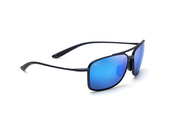 Maui Jim Sunglasses | Kaupo Gap 437 | Aviator Frame, Polarized Lenses, with Patented PolarizedPlus2 Lens Technology