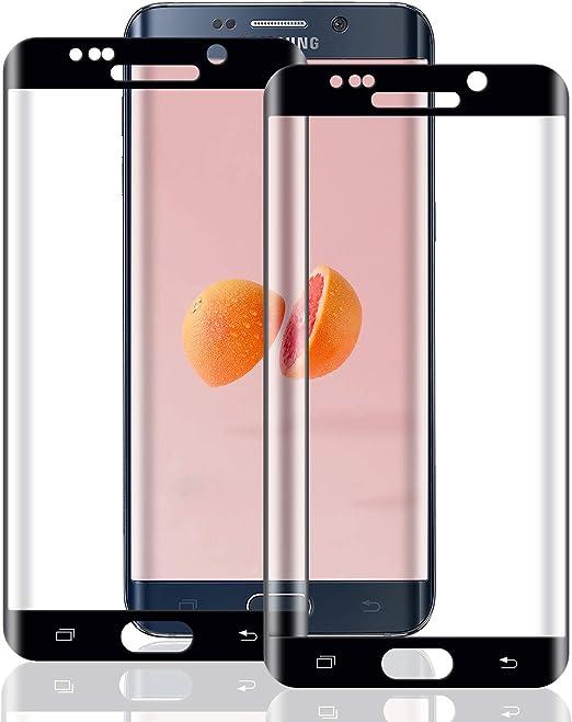 SONWO Galaxy S6 Film Protection /écran Anti Rayures Sans Bulles dair Ultra Transparent Duret/é 9H Glass Protection /écran pour Samsung Galaxy S6 2 Pi/èces