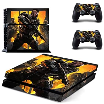 Call Of Duty Black Ops 4 Ps4 Wrap Skin Cover Playstation 4 Vinyl Decal Sticker Protective For Ps4 Console And 2 Ps4 Controller By Mr Wonderful Skin Video Games