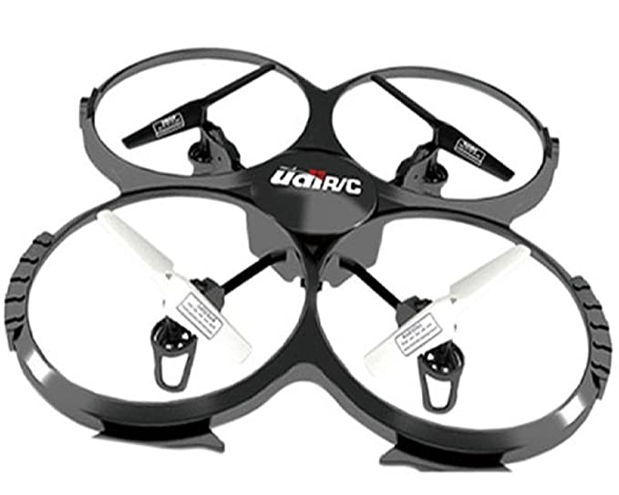 Amazon Com Udi U818a 2 4ghz 4 Ch 6 Axis Gyro Rc Quadcopter With