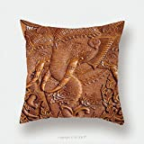Custom Satin Pillowcase Protector Wood Carving Pattern On The Door Of Thai Temple 471311894 Pillow Case Covers Decorative
