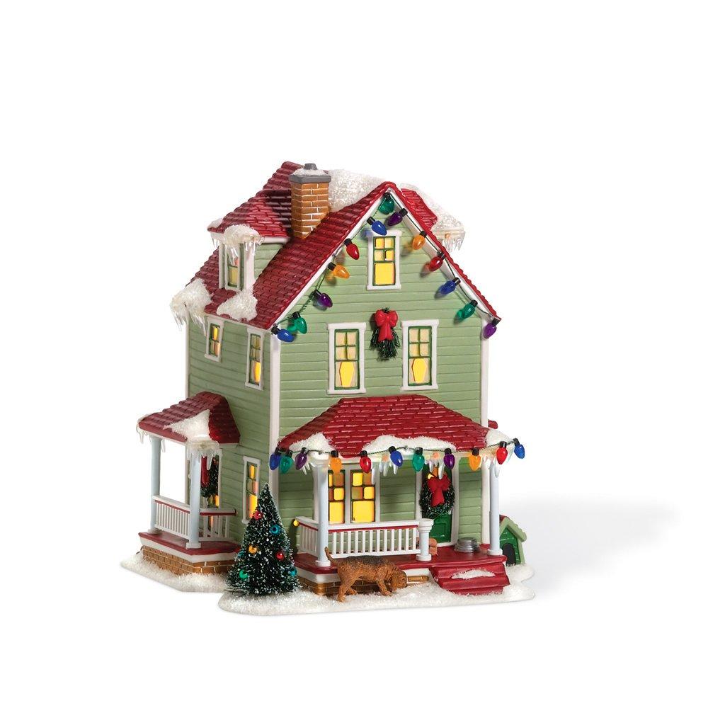 Department 56 Christmas Story Village Bumpus House Lit Building