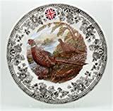 Queen's Dinner Plates Quintessential Game Collection (Pheasant) / Set of 4