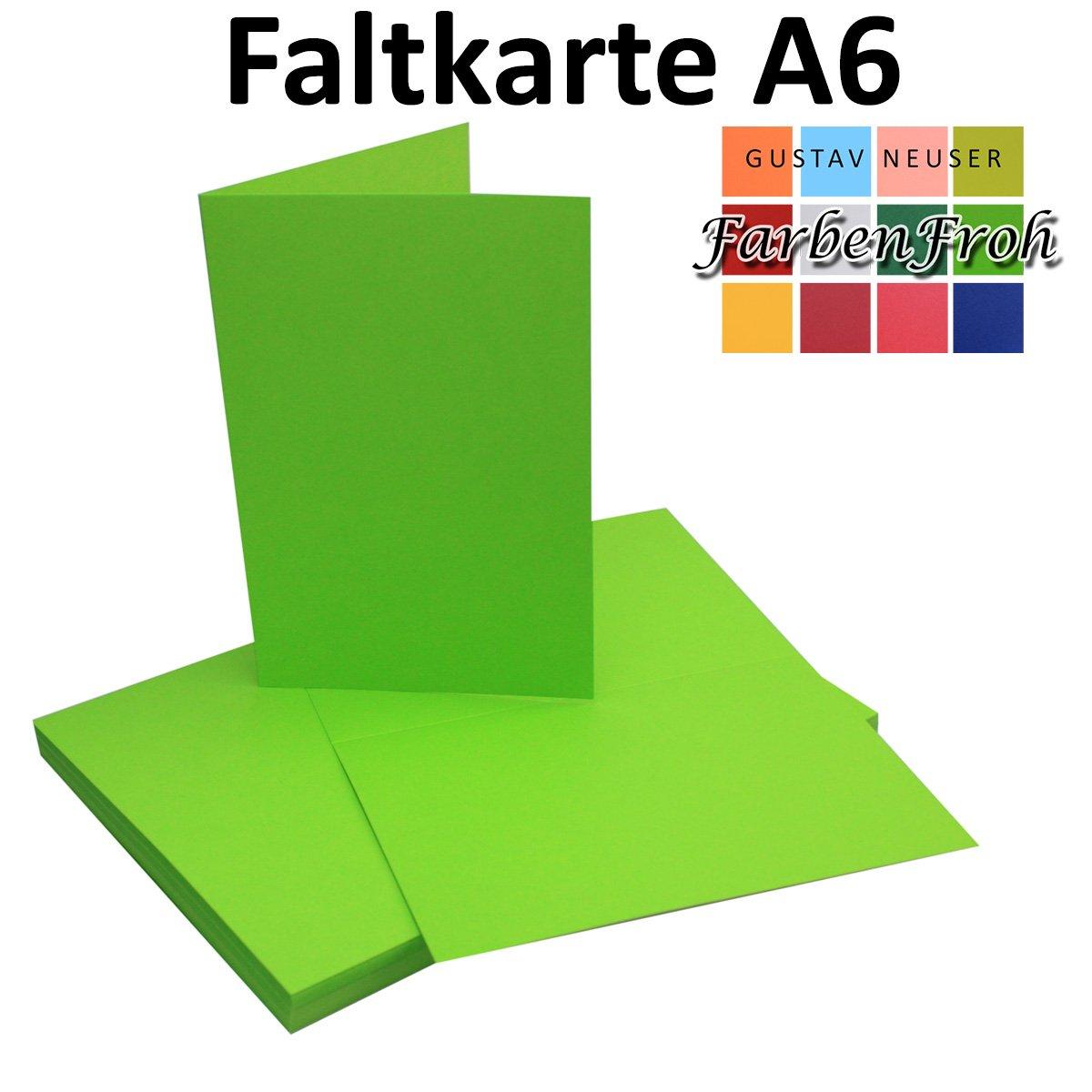 150x 150x 150x Falt-Karten DIN A6 Blanko Doppel-Karten in Vanille -10,5 x 14,8 cm   Premium Qualität   FarbenFroh® B079VQRKMZ |  Neuer Markt  ff8f82