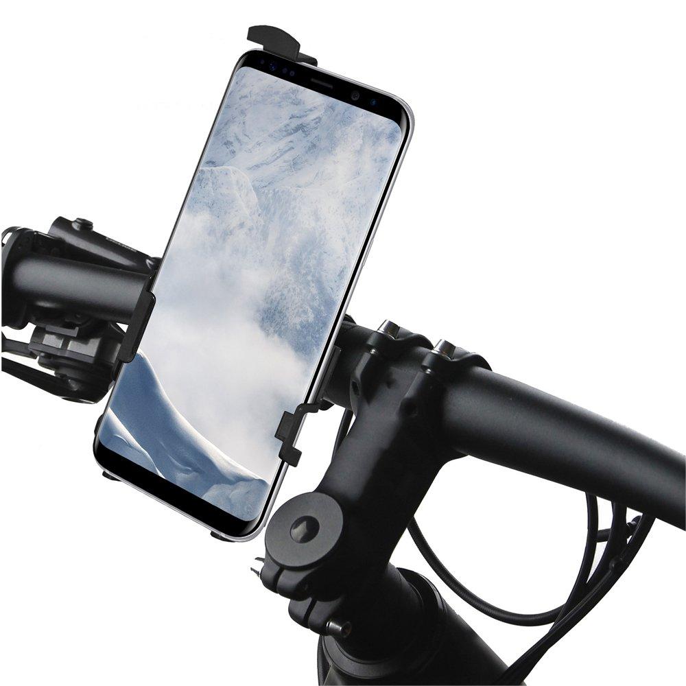 AMZER Bicycle Cart Handlebar Mount Holder Car Mount for Samsung Galaxy S8 Plus Bike Mount AMZ202311 Motorbike Stroller