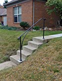 Iron X Handrail Arch #4 Fits 4 or 5 Steps