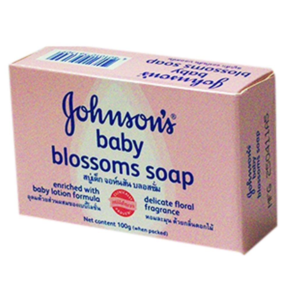 Johnson's Baby Blossoms Soap (100g Approx.) Johnson' s