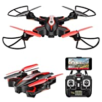 X56W Wifi FPV 2.4Ghz Folding drone with Camera,RC Quadcopter, 2.4G 4CH 6 axis gyro RC quad co-torter RTF altitude maintenance headless mode