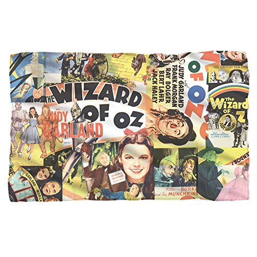 Wizard Of Oz Blankets - WIZARD OF OZ/COLLAGE - POLY 36X60 BLANKET - White - ONE SIZE by Trevco