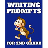 Writing Prompts For 2nd Grade: 48 Prompts With Dotted Handwriting Lines