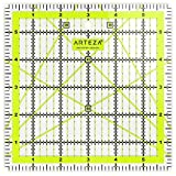 ARTEZA Acrylic Quilters Ruler & Non Slip Rings