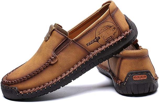 Hommes /Ét/é Sandales Respirantes Slip De Marche en Plein Air D/écontract/é sur Les Chaussures Conduite