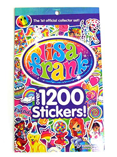 (LISA FRANK Sticker Book ~ Over 1200 Stickers - 1st Official Collector's Set!)