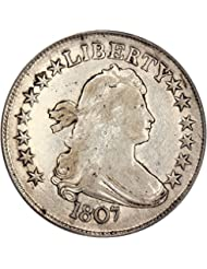 1807 P Bust Half Dollars Draped Bust Half Dollar XF40 PCGS