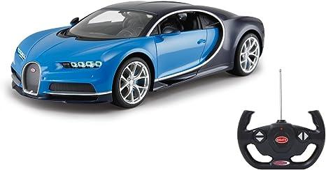 Jamara 405135 RC Bugatti Chiron 40MHz 1:14 RC Auto ferngesteuertes, blau