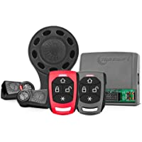 Alarme Taramps TW20 RF G4 01 Controles Presença 01 Controle Normal Sirene Sem Fio Alarme Automotivo