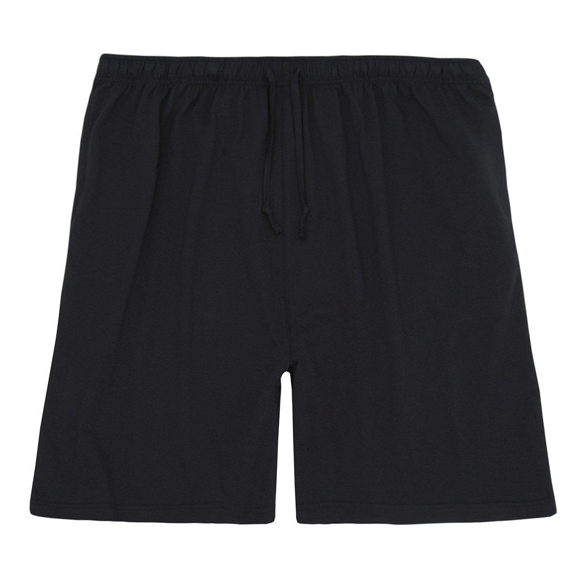 Mens Plus Size Cotton Jersey Shorts Baum Trading