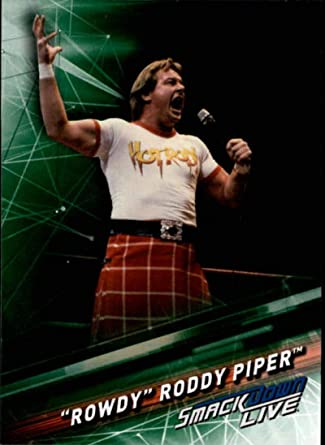 Rowdy Roddy Piper 2016 WWE Topps Heritage légende base trading card WWF