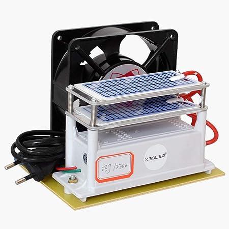 Opinión sobre XEOLEO 28g/h purificador de Aire portátil generador de ozono máquina de ozono para Sala/Oficina máquina de desinfección máquina de esterilización (28g/h)