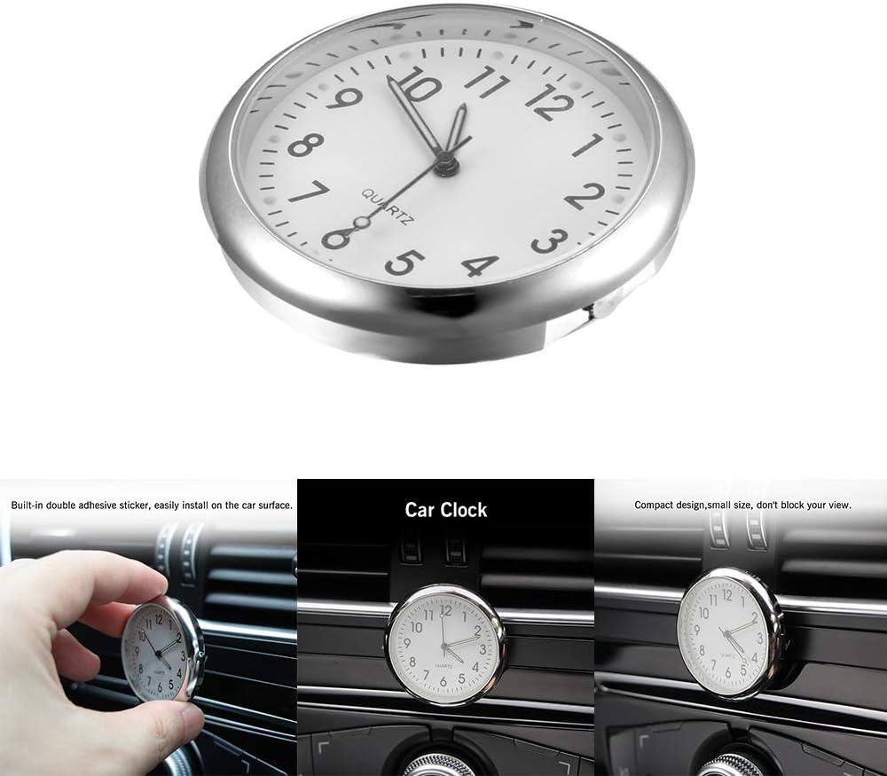 Tableau De Bord De Voiture Horloge Quartz Horloge De Voiture B/âton sur