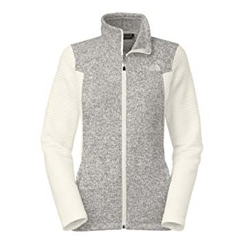 fd54e6796 The North Face Indi Full Zip Fleece Women's Gardenia White L ...