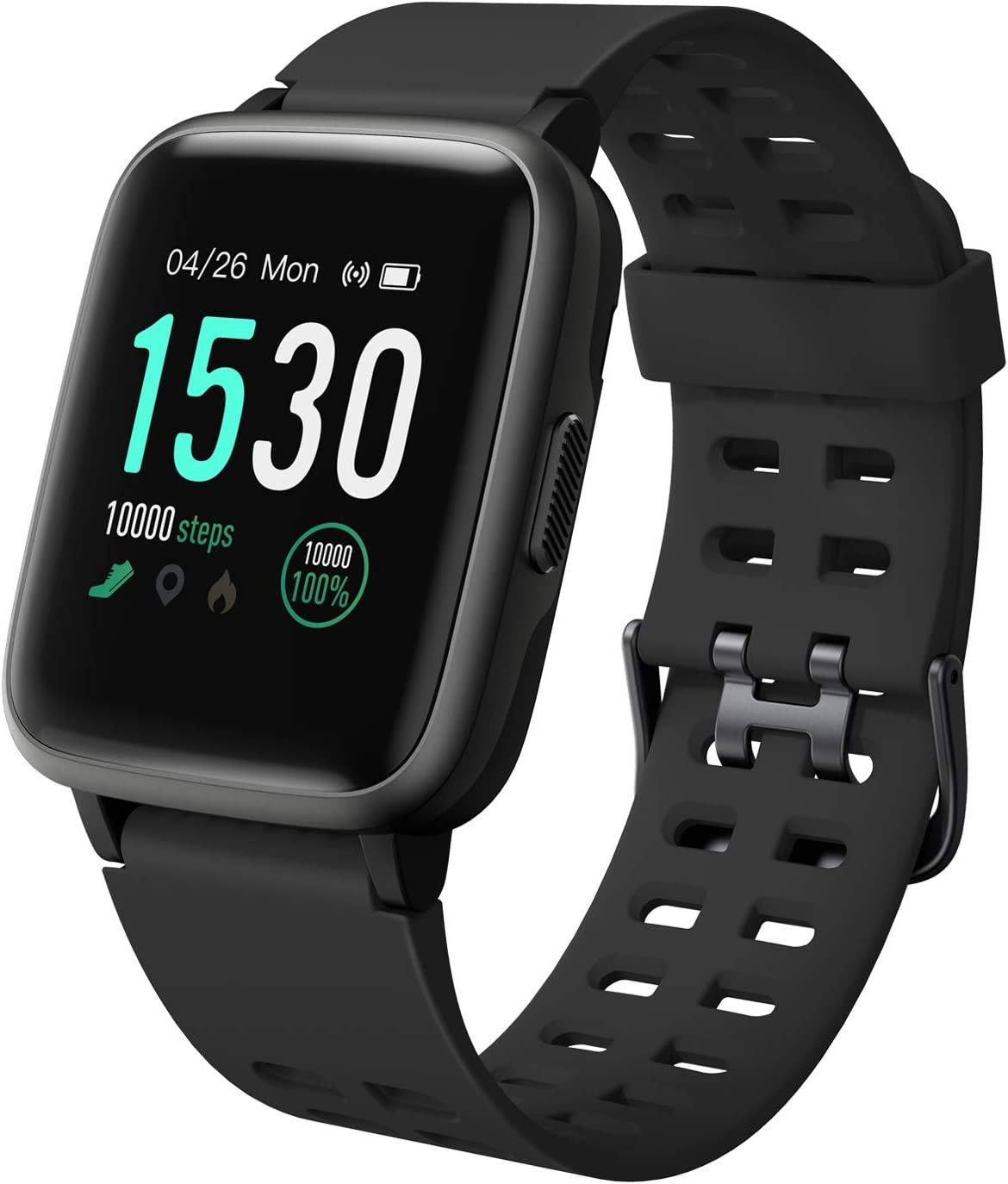 Amazon.com: LETSCOM Fitness Tracker con monitor de ritmo ...