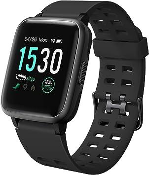 Amazon.com: LETSCOM Fitness Tracker con monitor de ritmo ...