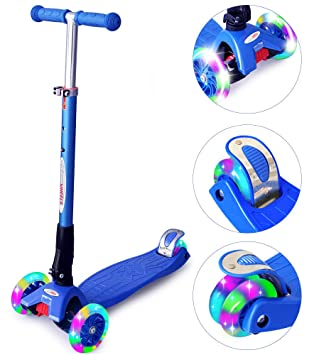 Amazon.com: ChromeWheels Scooters para niños, patinete ...