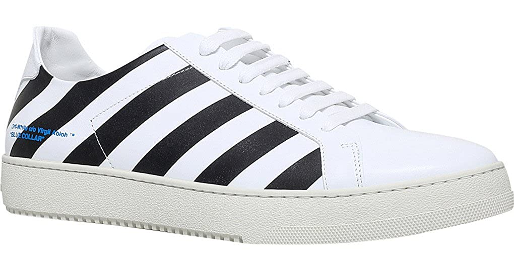 Off-White Stripe Sneaker White 7305113109 Trainers Shoes  Amazon.co.uk   Shoes   Bags fab553300e21