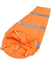 """Casualfashion 31.50"""" Durable Rip-stop Fluorescent Windsock with Reflective Belt"""