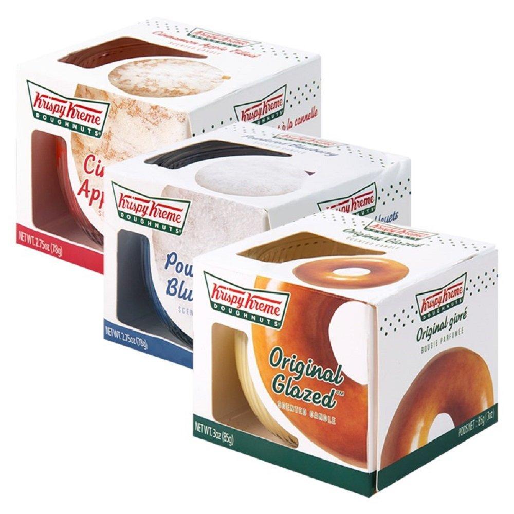 1x Krispy Kreme Doughnut Scented Candle- Scent at Random: Amazon.co ...