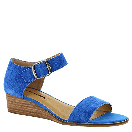 2d32d58d08 Image Unavailable. Image not available for. Color: Lucky Brand Women's  Riamsee Wedge Sandal ...
