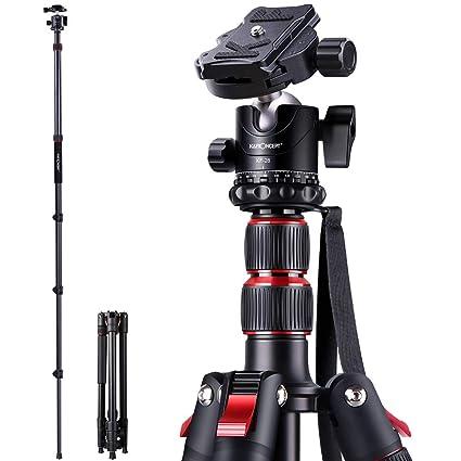 K&F Concept - Trípode para cámara réflex Digital (Aluminio ...